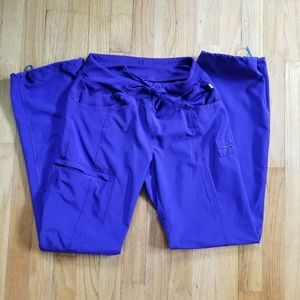 Cherokee Infinity Grape Scrub Pants